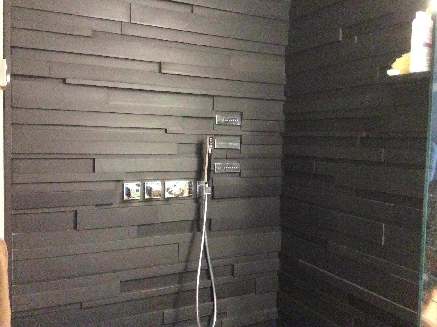 Rivestimenti Bagno In Ardesia : Piastrella da interno da bagno da pavimento in ardesia
