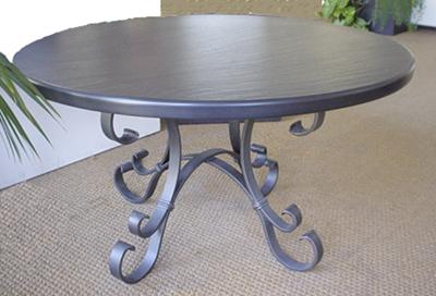 Ardesia Fontanabuona bassorilievo tavolino ferro battuto liguria ...