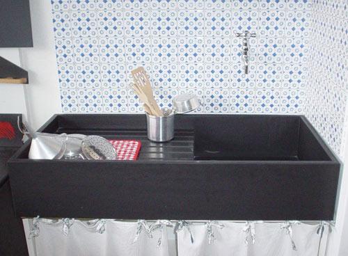 ardesia fontanabuona lavello top bagno cucina rivestimenti pietre ... - Lavandini Cucina In Pietra